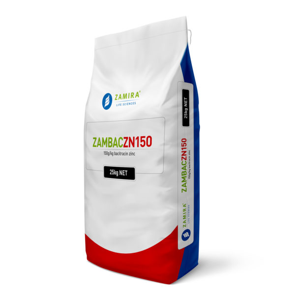 ZAMBAC ZN150 with Bacitracin Zinc can be used effectively to enhance performance in poultry and pigs, improve egg productivity and heat stress tolerance in laying birds   Zamira Australia
