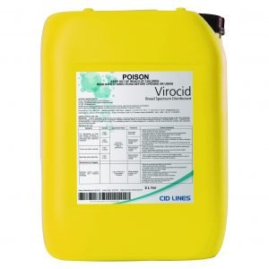 Virocid® is a concentrated disinfectant that is highly effective at killing bacteria, viruses, fungi and spores at a very low dilution rate – just 1 litre of Virocid covers 1600m2 | Zamira Australia