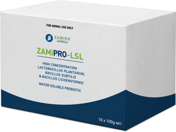 ZamiPro-LSL Probiotic for Poultry, Pigs and Aquaculture | Zamira Australia