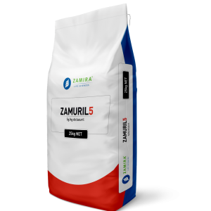 ZAMURIL5 (with diclazuril) is a non-ionophoric, synthetic broad-spectrum anticoccidial used in prevention of coccidiosis in broiler chickens, replacement birds and turkeys | Zamira Australia